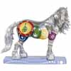 Horse of a Different Color Holiday 2013 Silverfrost Clydesdale Figurine
