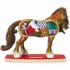 Horse of a Different Color Holiday 2013 Santa's Workshop Clydesdale Figurine