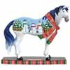 Horse of a Different Color Holiday 2013 Snowman Clydesdale Figurine