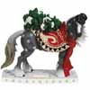 Horse of a Different Color Holiday 2014 Snowy Clydesdale Figurine Presale