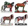 Horse of a Different Color 2014 Holiday Set of 4 Figurines Presale