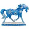Horse of a Different Color Holiday 2015 Snowflakes Arabian 6.5