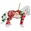 Horse of a Different Color Santa Claus Clydesdale 2.5