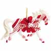 Horse of a Different Color Candy Cane Lane Arabian 2.75