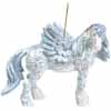 Horse of a Different Color Holiday 2013 Angel Ornament with Tin