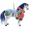 Horse of a Different Color Holiday 2013 Snowman Ornament with Collectible Tin