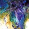 Marcia Baldwin Abstract Blue Roan 15