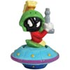 Looney Tunes Marvin the Martian in Spaceship Magnetic Salt & Pepper Shaker Set