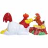 Looney Tunes Foghorn Leghorn and Henery Hawk Magnetic Salt & Pepper Shaker Set