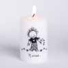 Children of Inner Light Nurse Votive Candle in Organza Bag with Heart Charm