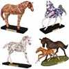 Trail of Painted Ponies (42nd Release) Winter Set of 4 Collectible Horse Figurines
