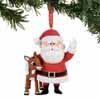 Department 56 Classic Brands Rudolph Red-nosed Reinder Rudolph and Santa 3.75