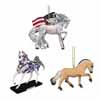Trail of Painted Ponies 2017 Everday Collector's Choice Ornaments Set of 3