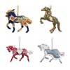 Trail of Painted Ponies Holiday 2017 Set of Hanging Christmas Horse Ornaments
