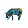 CowParade Vincent's Cow Ceramic Painted Artist Cow Figurine