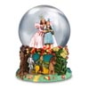 Wizard of Oz San Francisco Music Box Company Glinda and Dorothy 100MM Musical Globe