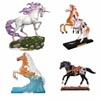 Trail of Painted Ponies Winter 2018 Set of 4 Collectible Resin Horse Figurines