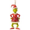 Jim Shore Heartwood Creek Holiday Grinch Santy Claus 5.5
