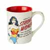 Enesco Giftware DC Comics Superheroes Wonder Woman Strong Woman 16 oz. Mug in Collectible Gift Box