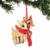 Department 56 Classic Brands Rudolph the Red-Nosed Reindeer Rudolph and Clarice  3.5
