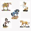 Trail of Painted Ponies Summer 2019 Collector's Set of 5 Horse Figurines
