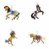 Trail of Painted Ponies Winter 2020 Collector's Choice Ornaments Set of 4 Presale