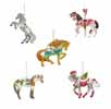 Trail of Painted Ponies Holiday 2020 Set of 5 Ornaments