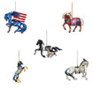 Trail of Painted Ponies 2021 Collector's Choice Set of 5 Hanging Ornaments