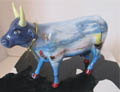 CowParade European Exclusive Alberta Cowp Ceramic Painted Cow Figurine