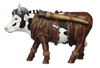 CowParade Retired Dairy Crockett Collectible Resin Cow Figurine