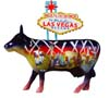 CowParade Retired Welcome To Fabulous Las Vegas Figurine