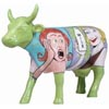 CowParade Retired Lactose Intolerabull Comic Strip Style Ceramic Cow Figurine