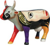 CowParade Retired Chelsea Ceramic Abstract Art Cow Figurine