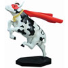 CowParade Retired Super Man Cow Resin Figurine