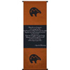 Spiritual Wall Scroll Fetish Bear ~Apache Blessing