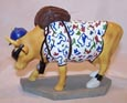CowParade Retired Out of Cow Towner Chicago Original 9 Figurine
