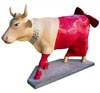 Cows on Parade Chicago Diamonds are a Cow's Best Friend (Marilyn Monroe Cow) Figurine