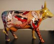 Cows on Parade Chicago Original 9 PiCOWso (Picasso) Cow Figurine