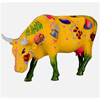 CowParade Kansas City More than Just Meat Ceramic Cow Figurine