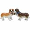 Mwah! St. Bernards Magnetic Salt and Pepper Shakers