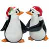 Mwah! Christmas Penguins Salt & Pepper Shakers