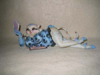Alley Cats by Margaret Le Van Persia Showgirl Hand-Painted Collectible Resin Cat Figurine