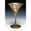 Lolita Love My Martini Retired Hand-Painted Leopardtini Collectible Cocktail Glass in Gift Box
