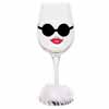 Lolita Love My Wine Retired Hand-Painted Almost Famous Collectible Wine Glass in Gift Box