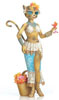Alley Cats by Margaret Le Van Katty Diva Sun Goddess Hand-Painted 8
