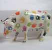 CowParade Retired Chicago Original 9 HANDsome Cow Ceramic Figurine