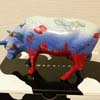 CowParade European Exclusive Retired London Sea Cow Collectible Ceramic Figurine